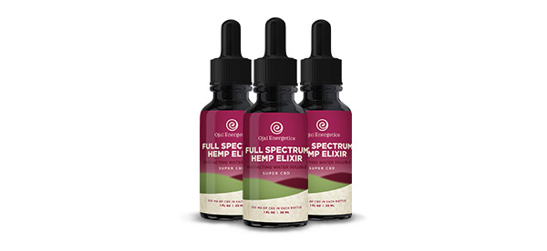 Full Spectrum Hemp Elixir 3 Pack