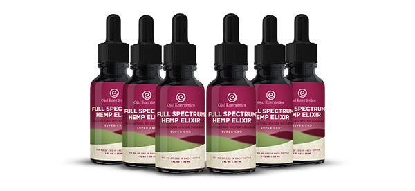 pack of cbd bottles