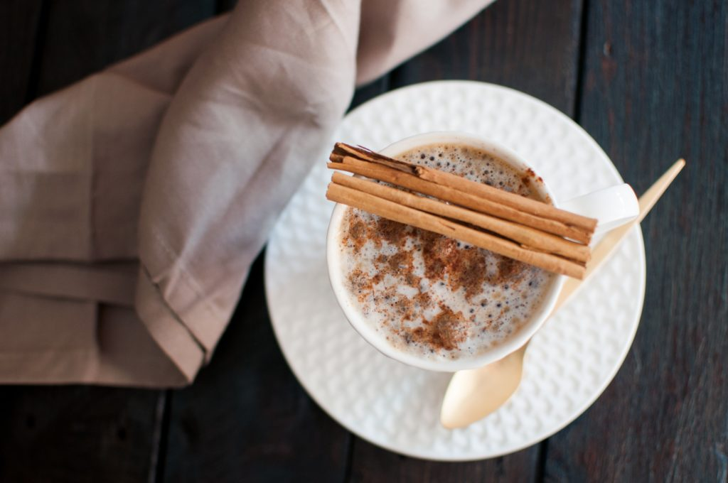 Our favorite CBD coffee recipe combines your favorite hot beverage with honey, cinnamon, and water-soluble CBD